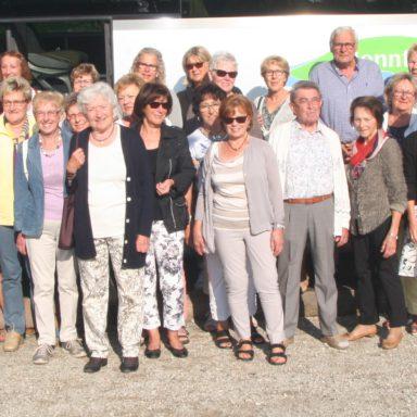Das Dachauer Rotkreuzshop-Team unternimmt einen Ausflug nach Freising