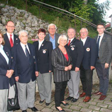 Foto (von links): Traudl Stolz, Bernhard Seidenath, Werner Tich, Angelika Gumowski, Rita Schieri, Herbert Grieser, Reinhard Weber, Hans Ramsteiner, Dennis Behrendt und Markus Weigl.
