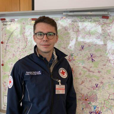 Katastrophenschutzbeauftragte und Leiter des Rettungsdienstes Dennis Behrendt