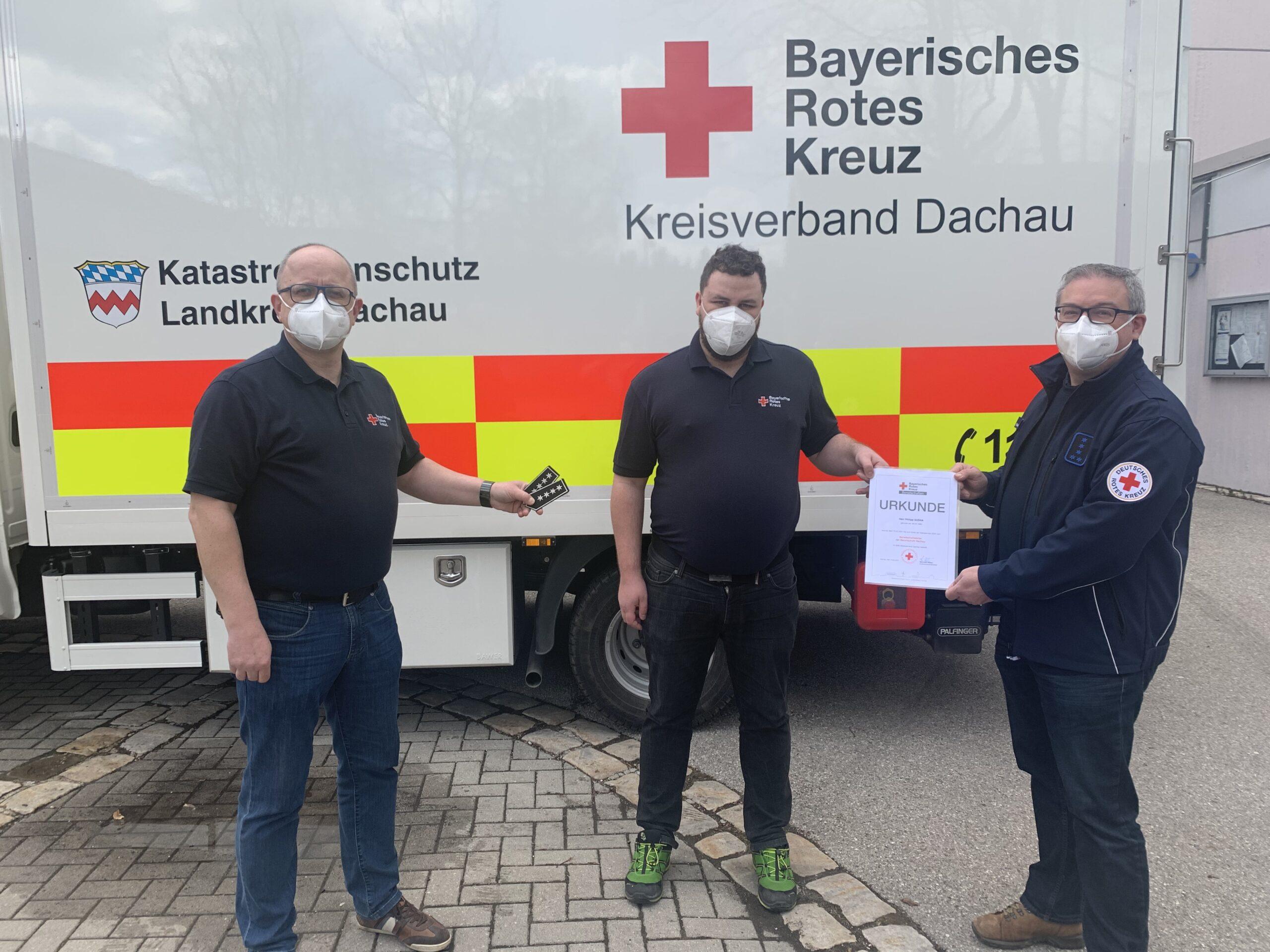 von links: Dieter Ebermann, Philipp Sosna und Reinhard Weber